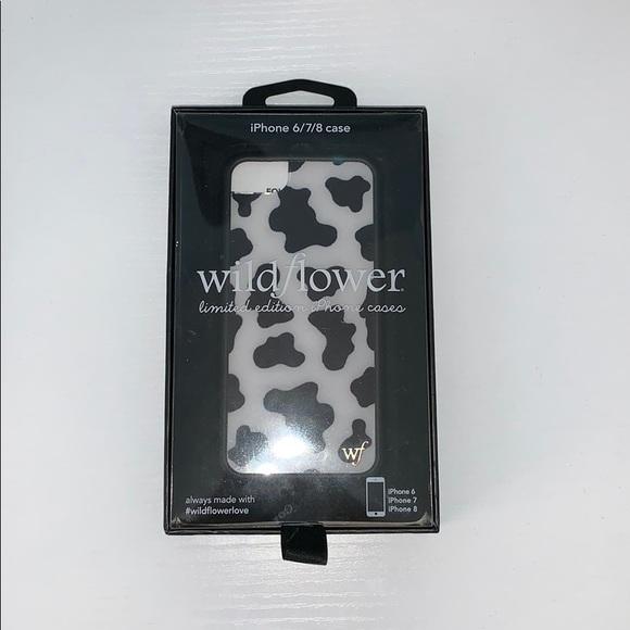 best service 7cca9 2c8f5 Wildflower Accessories | Cases Cow Print Phone Case | Poshmark